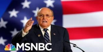 Crookie 'With Friends Like These' Award:  Rudy Giuliani