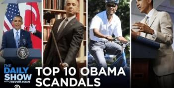 The Daily Show Presents The Top Ten Obama 'Scandals'