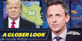 Seth Meyers Takes 'A Closer Look' At Threats Of War Crimes