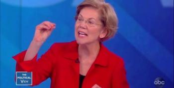 Elizabeth Warren Explains Her Wealth Tax To Joy Behar On The View