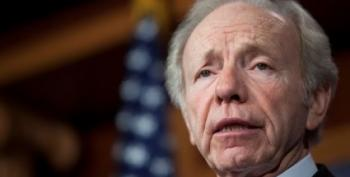 Why Joe Lieberman Is Suddenly All Over Your Teevee