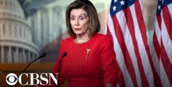 Pelosi Press Conference: 'Dismissal Equals Cover-Up'