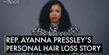 Rep. Ayanna Presley Shows Her Beautiful Bald Head After Hair Loss