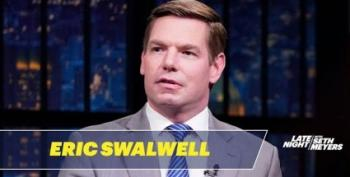 Eric Swalwell Talks Impeachment With Seth Meyers