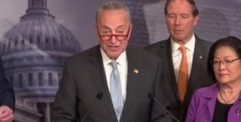 Democratic Senators Hold Press Conference On Impeachment