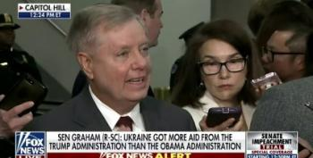 'He Did Nothing Wrong In His Mind!' Screams Lindsey Graham