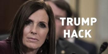 Martha McSally Is A Trump Hack