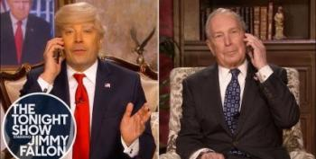 Donald Trump (Jimmy Fallon) Cold-Calls Mike Bloomberg