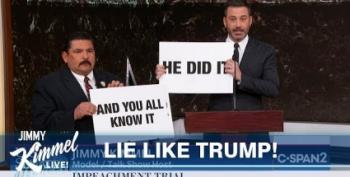 Jimmy Kimmel Eye-Rolls At Trump's Whining Over Bolton