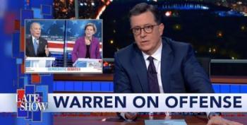Stephen Colbert Celebrates Debate In His Home State Of South Carolina
