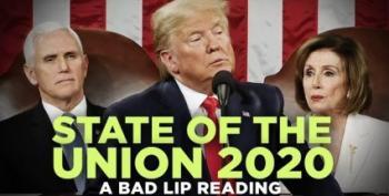 At Long Last, The Bad Lip Reading Of SOTU 2020