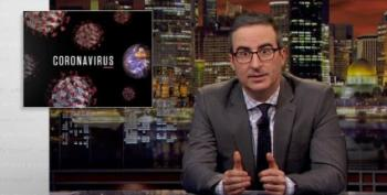 John Oliver Magnificently Shreds Trump And Fox News Economist Playing Coronavirus Expert