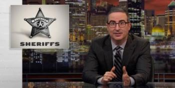 John Oliver Wants You To Know Who Your Sheriff Is