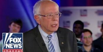 Bernie Sanders Scoffs At Trump's 'Stupid' 'Natural Ability' Brag