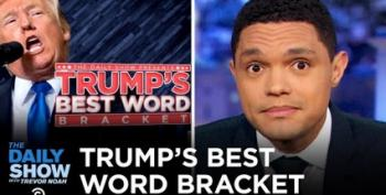 Trevor Noah Introduces 'Trump's Best Words' March Tournament