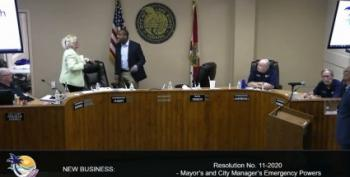 Florida Town Council Meeting Erupts As COVID-19 Response Questioned