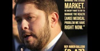 Rep. Ruben Gallego: Trump Talks Out Of His Ass When It Comes To The Coronavirus