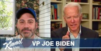 Jimmy Kimmel Interviews Joe Biden About The Coronavirus Crisis