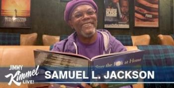 Samuel L. Jackson Reads 'Stay The F**k At Home'