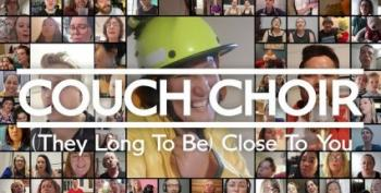 Couch Choir Sings 'Close To You'