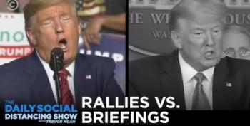 WSJ Editorial Board Agrees With Crooks And Liars: Trump's COVID-19 Briefings Are 'Wasted'
