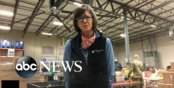 Friday News Dump: Americans Flood Neighborhood Food Banks, And Other News
