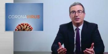 John Oliver: It Shouldn't Take A Pandemic To Show We Need Social Programs