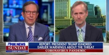 Trump Attacks Chris Wallace: 'Worse Than Sleepy Eyes Chuck Todd'