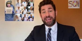 See What John Krasinski Cooked Up To Thank Healthcare Workers