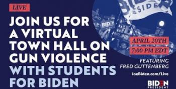 Virtual Town Hall With Students For Biden To Discuss Gun Violence