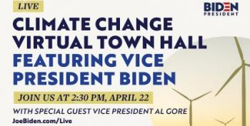 Climate Change Town Hall With VPs Joe Biden And Al Gore