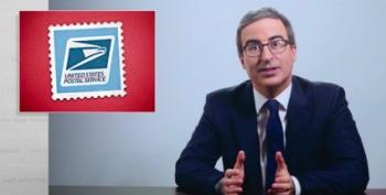 John Oliver Asks Us All To Buy His Stamps And Stand Up For The U.S. Postal Service
