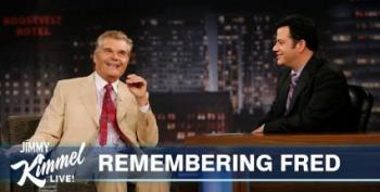 'A Christmas Tree In June': Kimmel Pays Tribute To Fred Willard