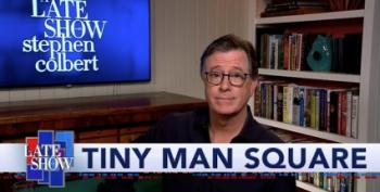 Stephen Colbert: 'Dictator Fanboy' Wants Military Vehicles In Streets Of D.C.