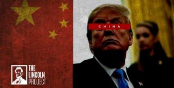 New Lincoln Project Ad: 'China Made Trump Roll Over Like A Dog'