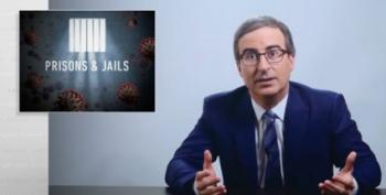 John Oliver Asks Why We Don't Care About COVID-19's Spread Through Prisons