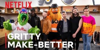 Philly's Gritty Gets A Queer Eye Makeover