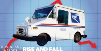 Trump's New Postmaster Orders Workers To Slow Down First-Class Mail Delivery