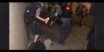 ACLU Sues Trump Over Attacks On Portland Medics