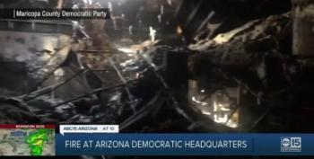 Arizona Democratic Headquarters Torched By Arsonist