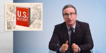 John Oliver Explains The Whitewashed Version Of American History We Were All Taught