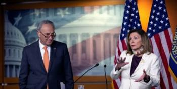 Pelosi To Mark Meadows: You're Slamming The Table On Our Children