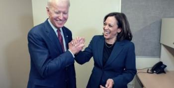 The First Biden-Harris Ad Is A Barnburner