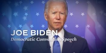 Joe Biden Delivers A Barnburner Of A Convention Speech