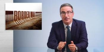 John Oliver: Trump's Wall 'Destructive, Pointless, Ineffective, Racist, Weak'