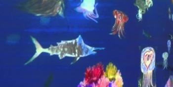 Fish Made With Crayons Come Alive!