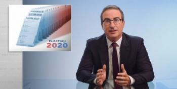 John Oliver Takes A Jaundiced Look At The 2020 Election