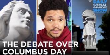 Trevor Noah Shreds 'Columbus Day'
