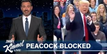 Jimmy Kimmel Explains The Trump Town Hall:  'NBC Sucks'