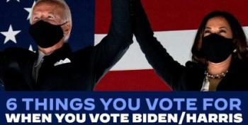 Six Things You Vote FOR When You Vote For Biden